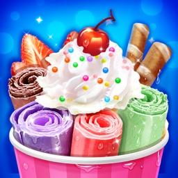 Frozen Ice Cream Roll Desserts