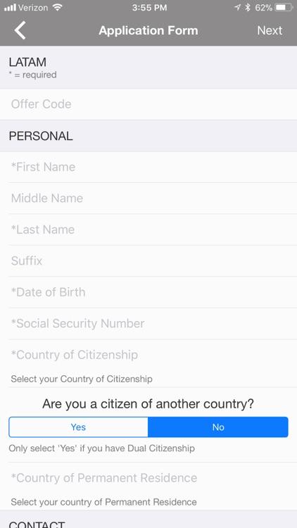 LATAM Visa