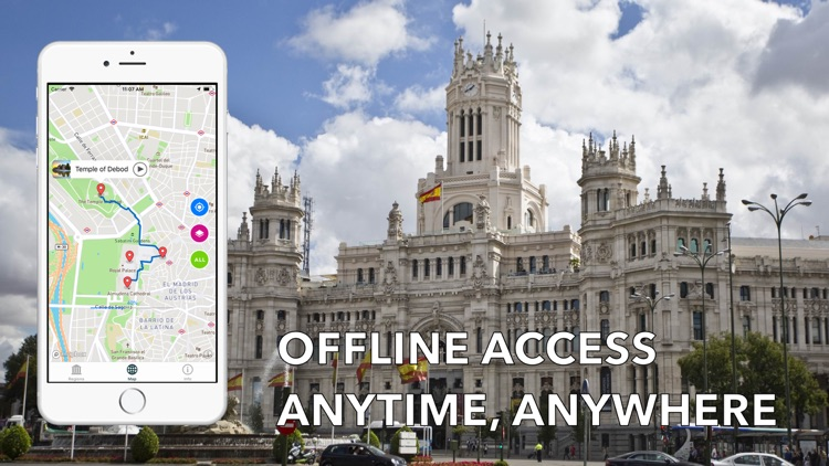 Madrid Travel Audio Guide Map screenshot-3