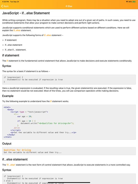 Learn Javascript Programming screenshot 14