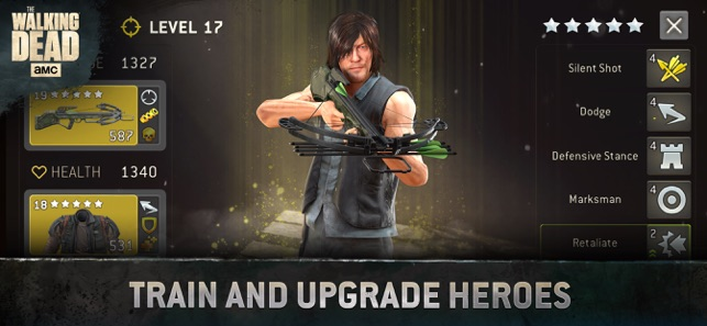 The Walking Dead No Mans Land On The App Store