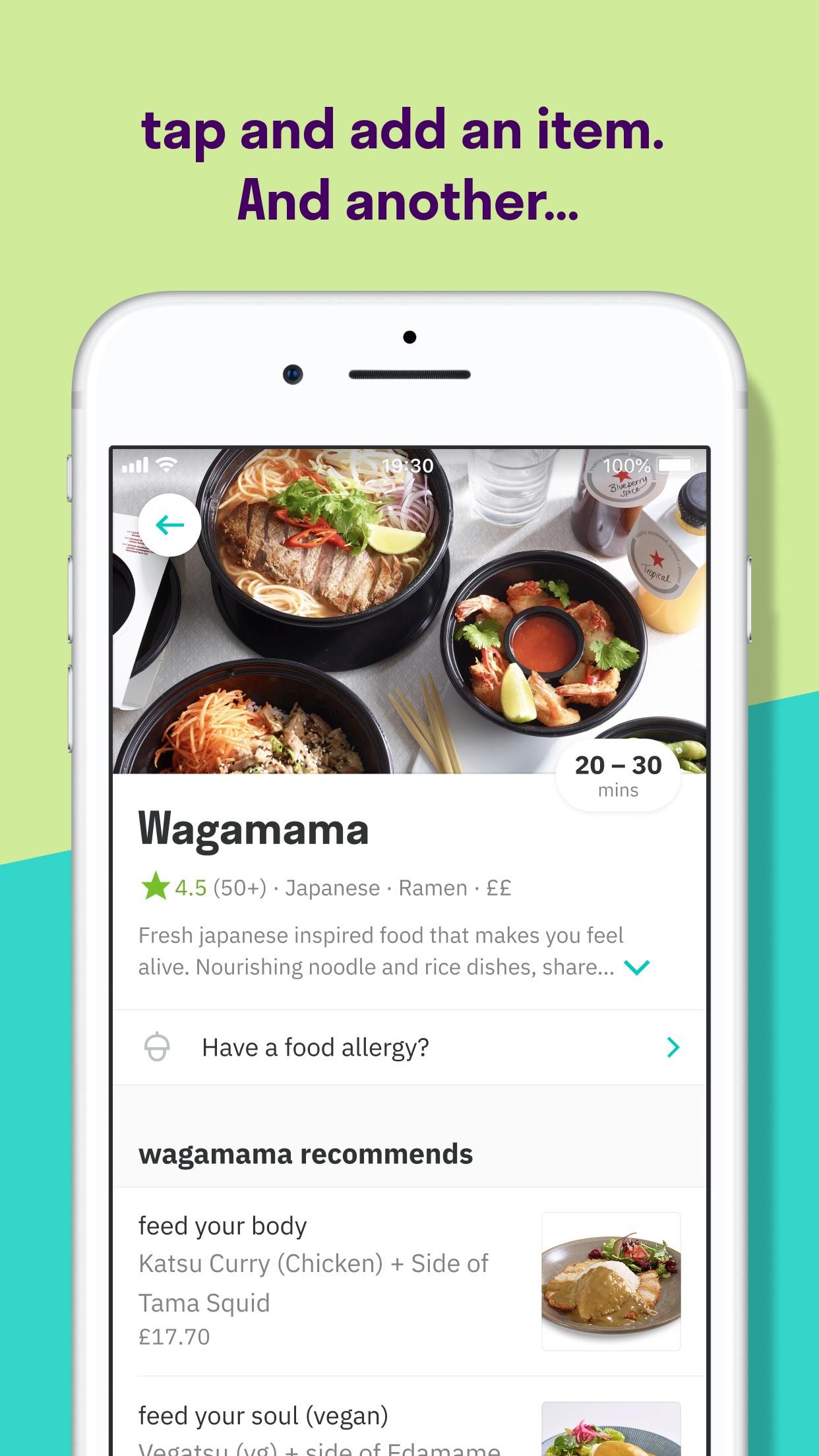 Deliveroo: Food delivery Screenshot