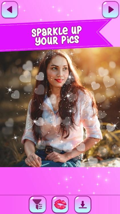 Sparkle Light Glitter Editor screenshot-3