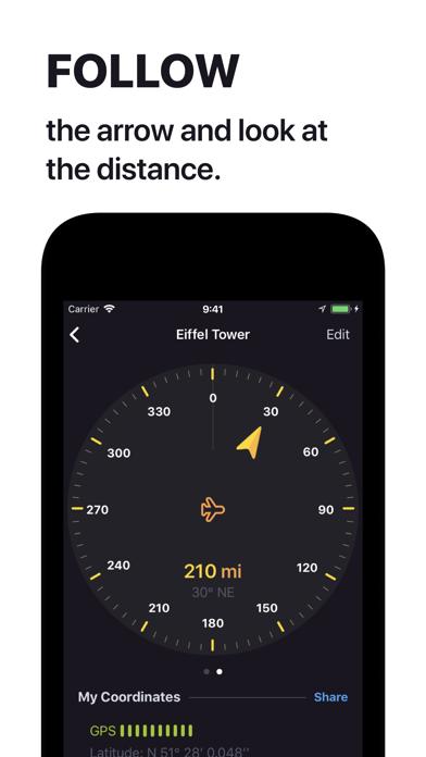 Anchor Pointer Compass GPS Screenshots