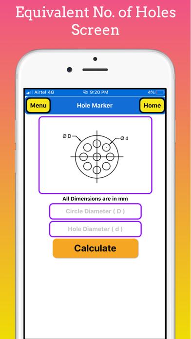 Flange Hole Marker Pro screenshot 4