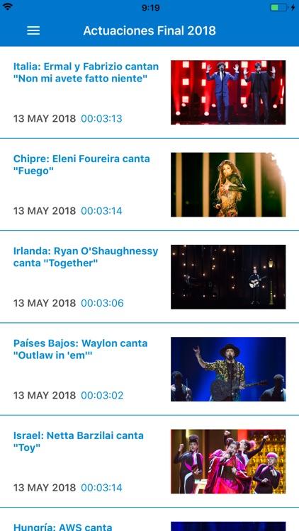 Eurovisión  rtve.es screenshot-4