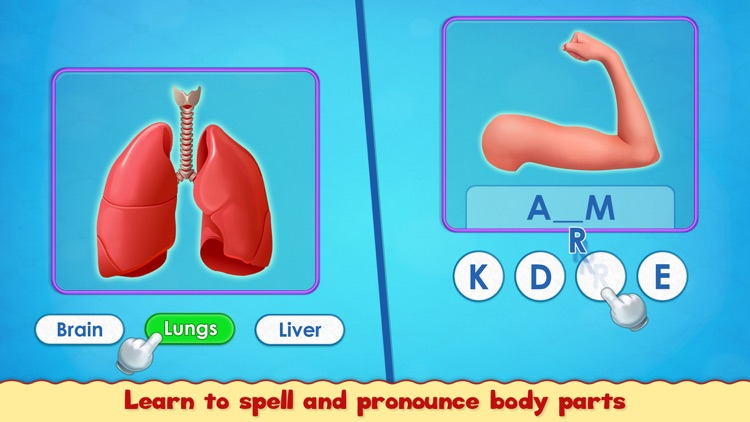 Human Body Parts Play to Learn screenshot-6