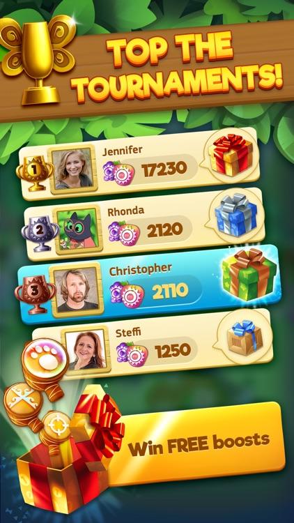 Tropicats: Match 3 Puzzle Game screenshot-5