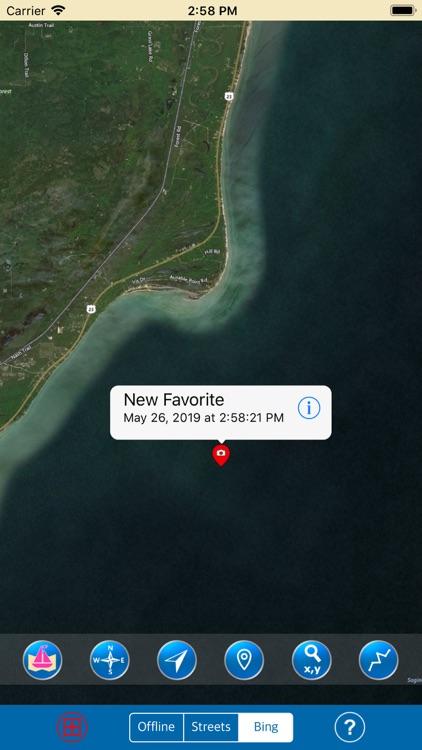 Huron & Erie Lakes Marine Map screenshot-5
