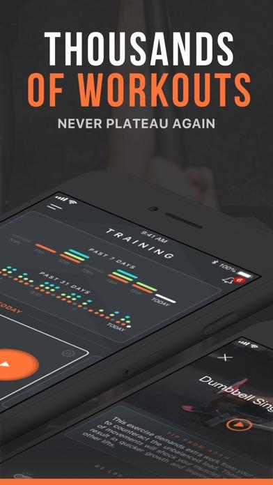 SHRED: Gym Workout & Tracker screenshot 2
