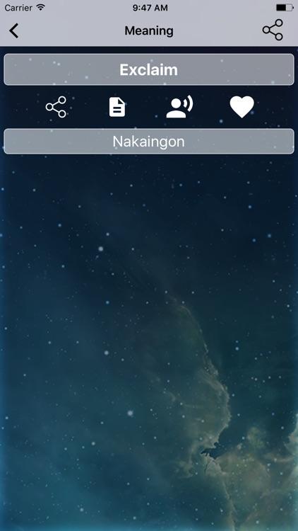 English To Cebuano Dictionary. screenshot-3