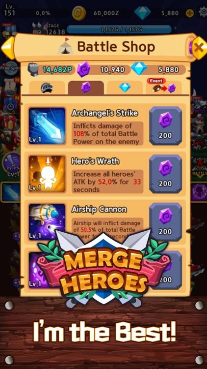 Merge Heroes Frontier screenshot-6