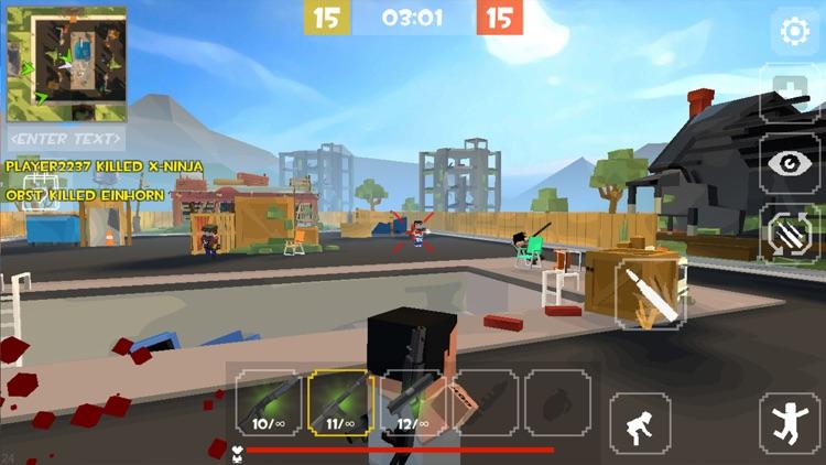 Grand Battle Royale: Pixel FPS screenshot-6