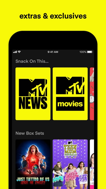 MTV Play: on demand reality tv screenshot-3