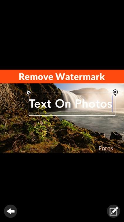 Fotos: Add Text on Image
