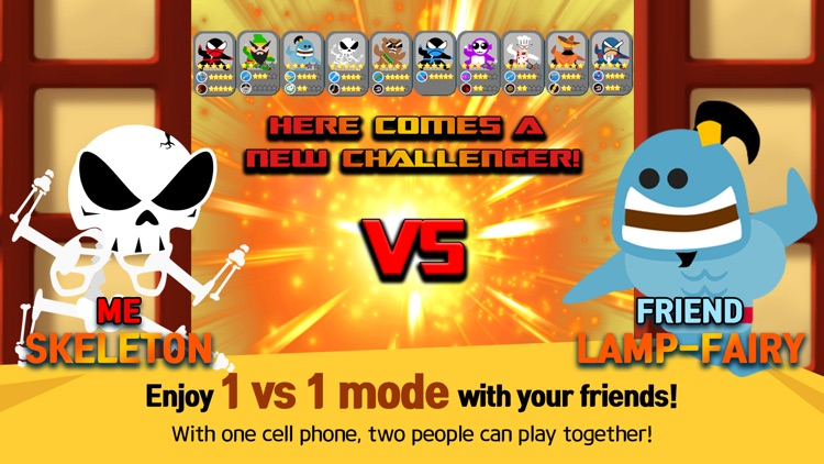 Jumping Ninja Battle - 2Player screenshot-4