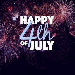 Animated 4th Of July Sticker