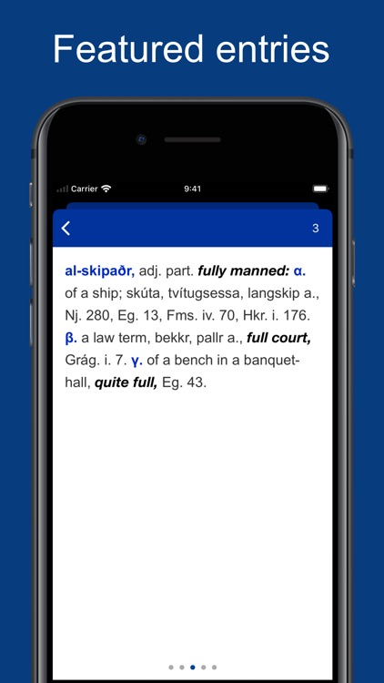 Icelandic English Dictionary screenshot-5