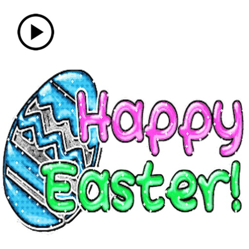 Happy Easter Animated Sticker
