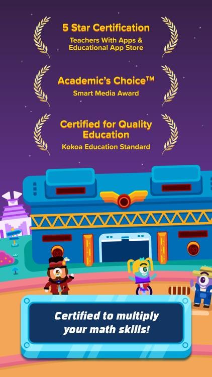 3rd Grade Math: Fun Kids Games screenshot-5