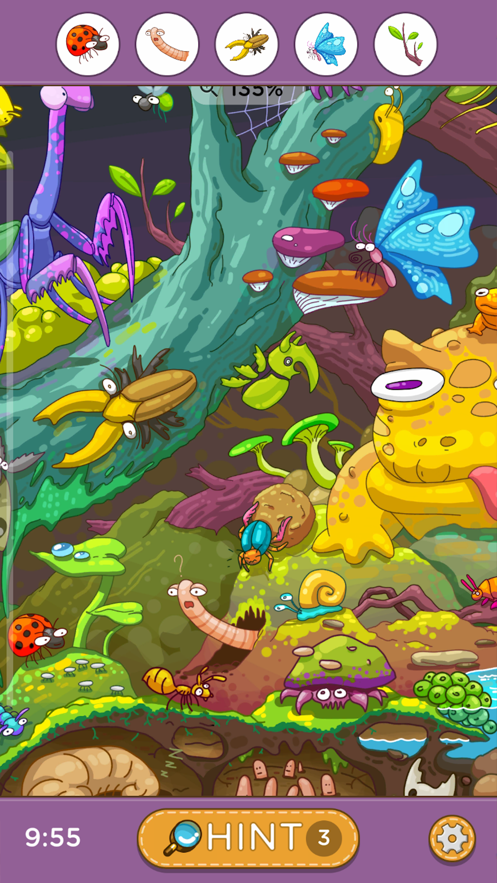 Hidden Objects - Fantasy World App 截图