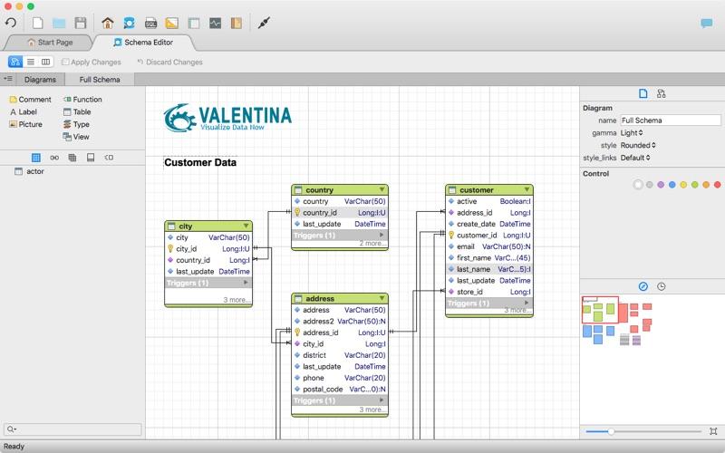 Valentina Studio review screenshots