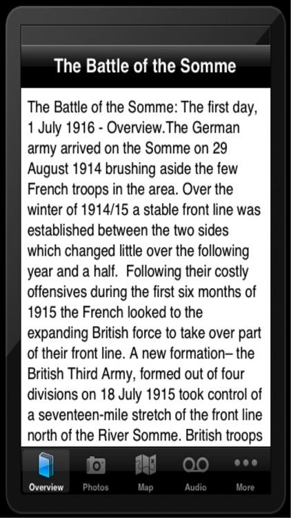 Pocket Tours Somme