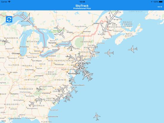 SkyTrack Flight tracker aware-ipad-5
