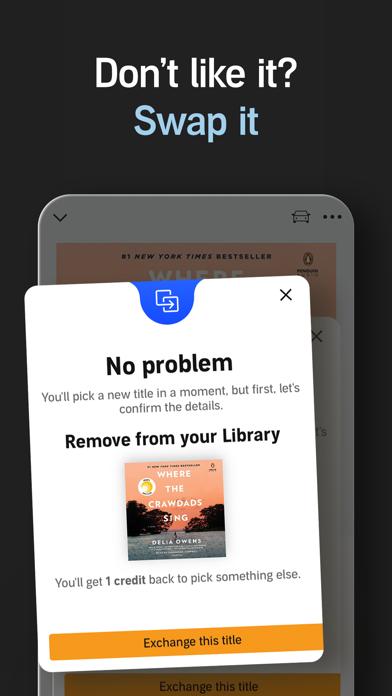 Audible audio books & stories Screenshot