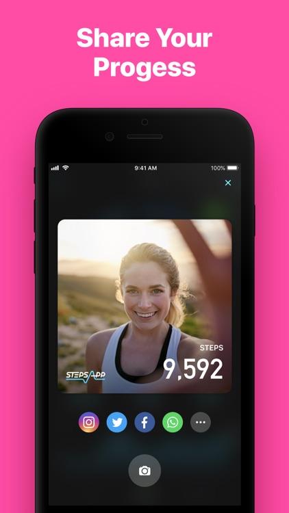 StepsApp Pedometer screenshot-5