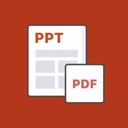 Alto PDF: convert PPT to PDF