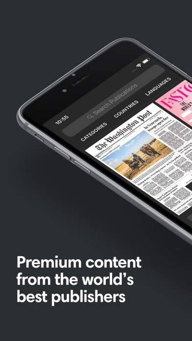 Screenshot for PressReader in Pakistan App Store