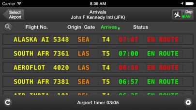 Screenshot for mi Flight Board Pro Tracker in Azerbaijan App Store