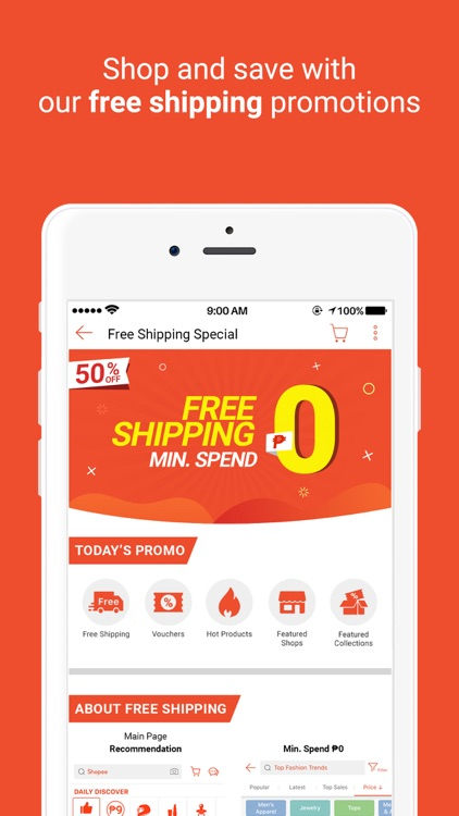 Shopee PH: 2.2 50% Off Sale screenshot-3