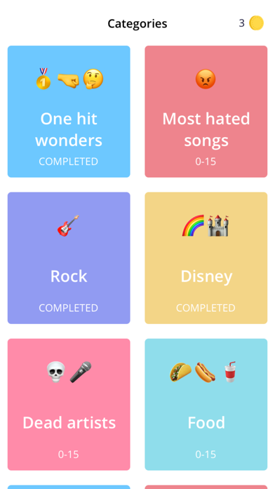 Emoji Music Match screenshot 1