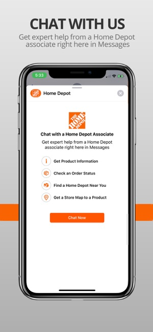 The Home Depot on the App Store
