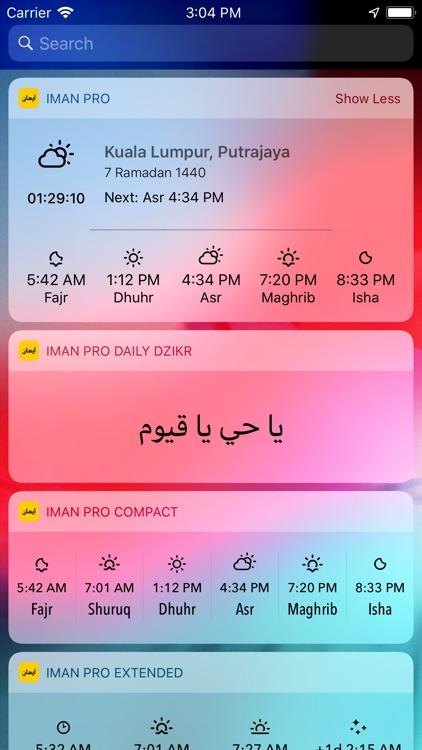 iman Pro: Solah, Azan & Qibla