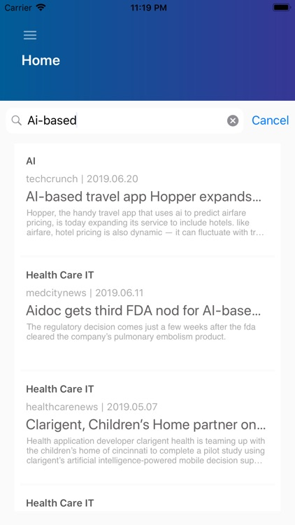 AIntelNews screenshot-4