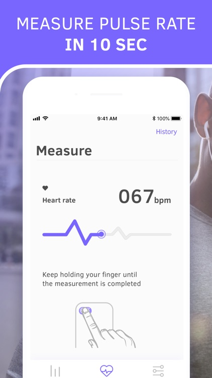 Pulse Monitor. Heart Beat Rate