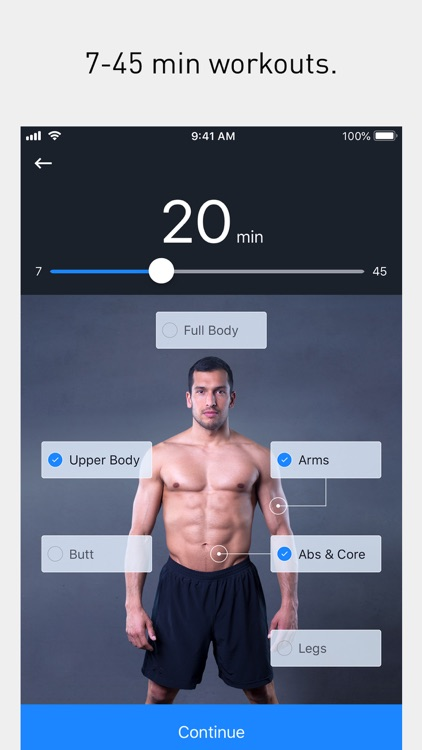 Runtastic Results Home Workout screenshot-0