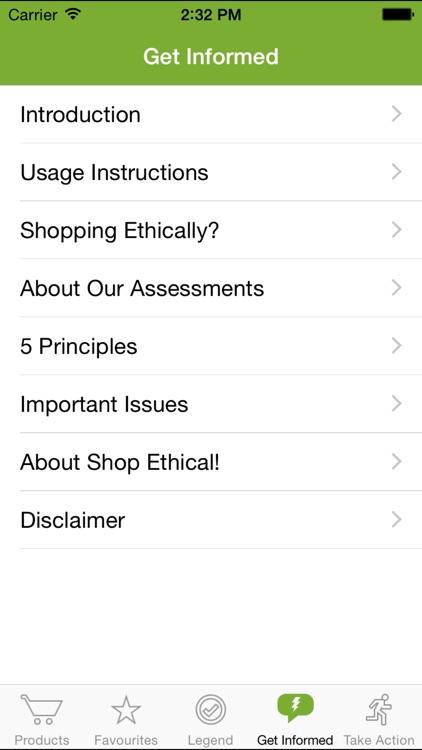 Shop Ethical! screenshot-3
