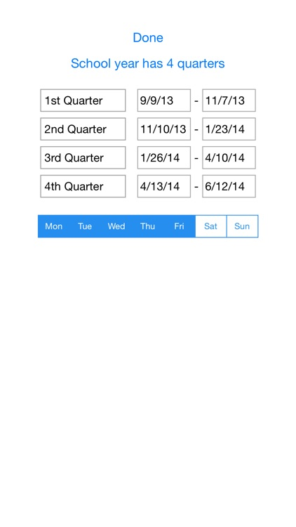 Gradekeeper for iPhone screenshot-3
