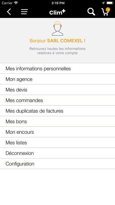 Screenshot #2 pour CLIM+