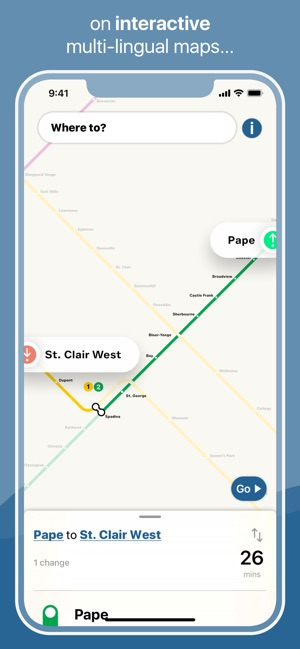 Toronto Subway Map Union Station.Toronto Subway Map On The App Store
