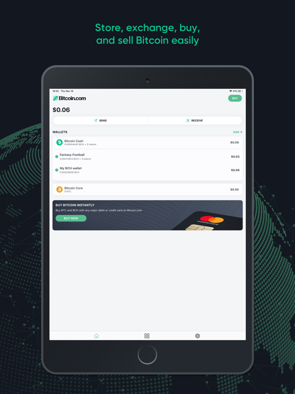 Bitcoin Wallet By Bitcoin.com screenshot
