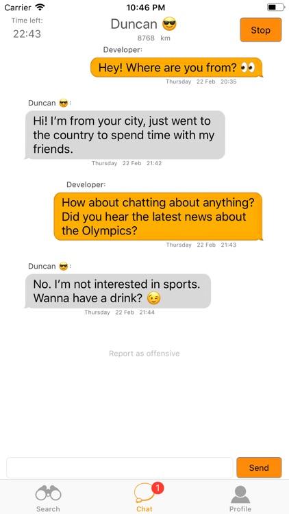iBesedka: Random text chat