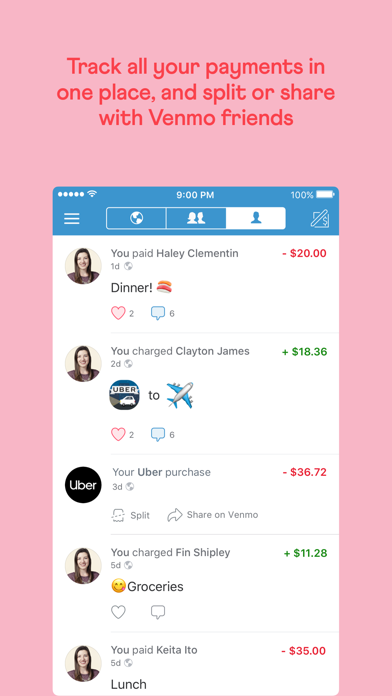 Screenshot for Venmo: Send & Receive Money in United States App Store