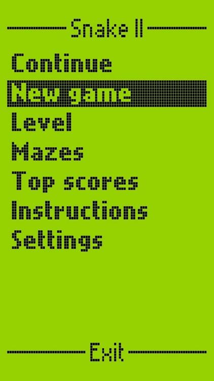 Snake II - Game from 2000 screenshot-5