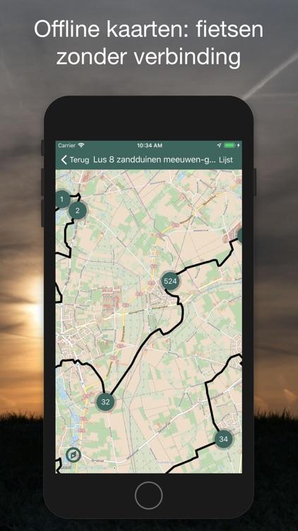 Fietsknooppunten: Vlaanderen screenshot-4