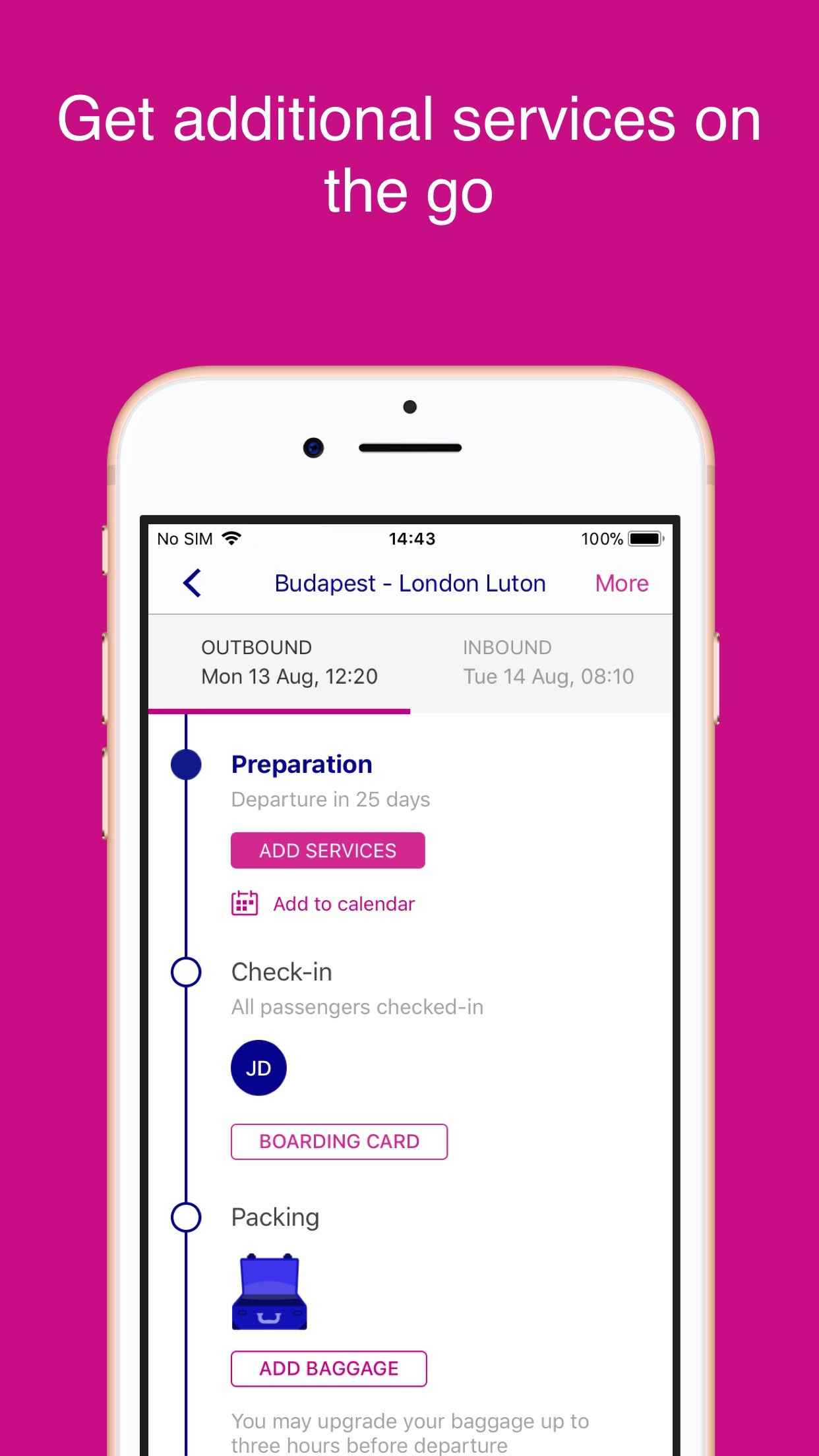 Wizz Air Screenshot